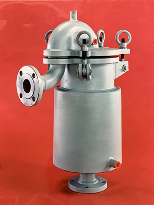 Jacketed filter pot.