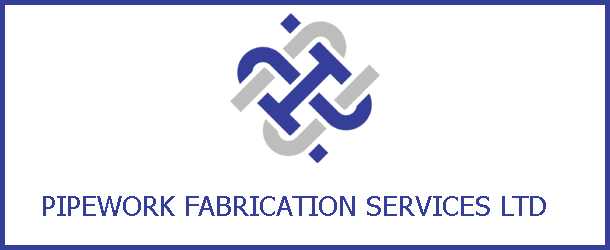 Pipework Fabrication Services Ltd banner.